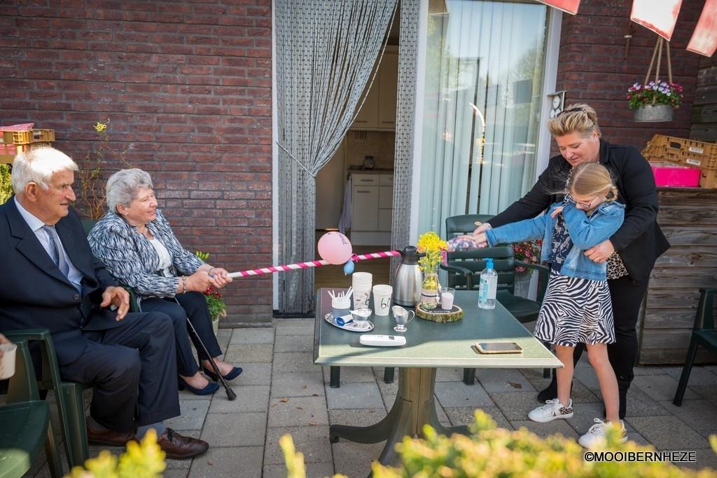 Heeswijk-Dinther - Diamantenbruiloft Herman en Marietje van Gaal Foto: Edwin Hendriks  © mooibernheze