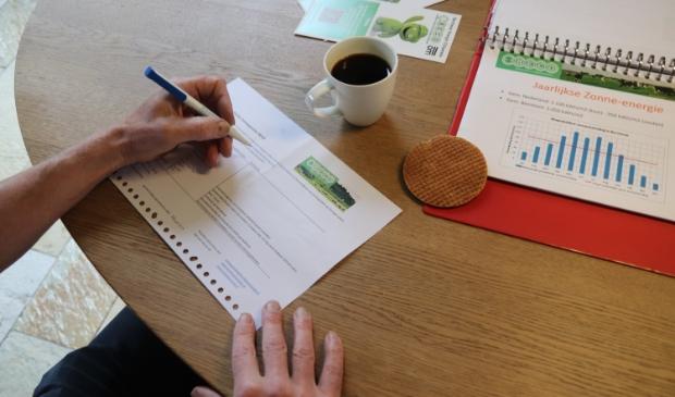 Een keukentafelgesprek over energie besparen en duurzaamheid