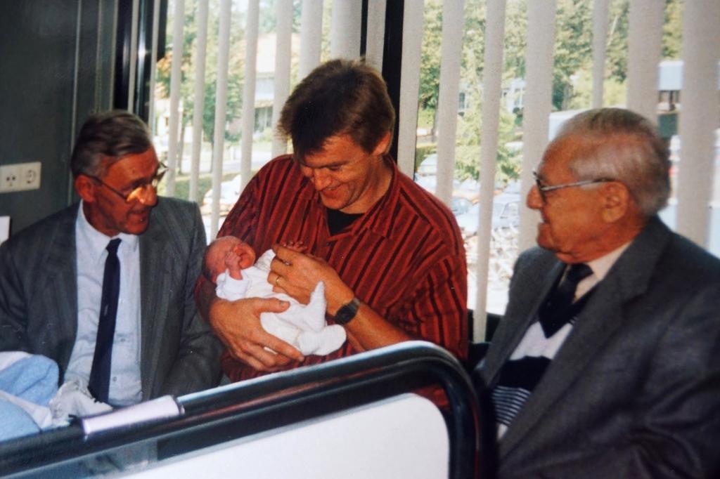4e generatie toen Wesley net geboren was, 29 jaar geleden.  © mooibernheze
