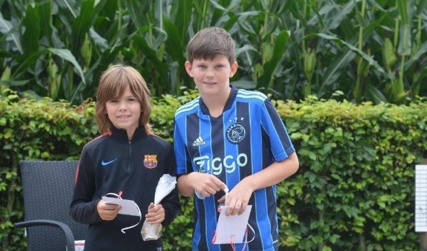Winnaars jeugd: Wes Geenen en Kris Jansen  © mooibernheze