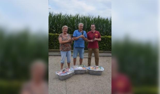 Winnaars: Thea en Bert van Os en Mark de Kok