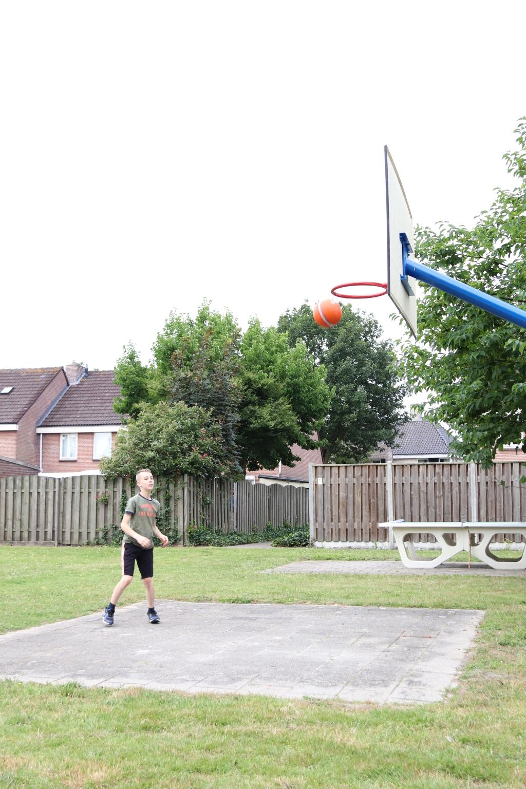 De basket na het opknappen  © mooibernheze