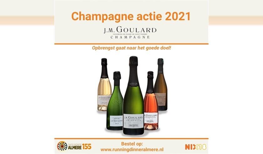 Tafelronde komt met nieuwe champagne-actie voor goede doel