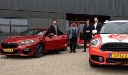 Spelers en directie in BMW en MINI