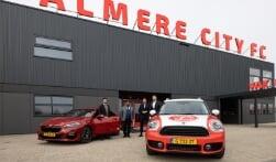 Almere City FC stapt opnieuw in bij Ekris