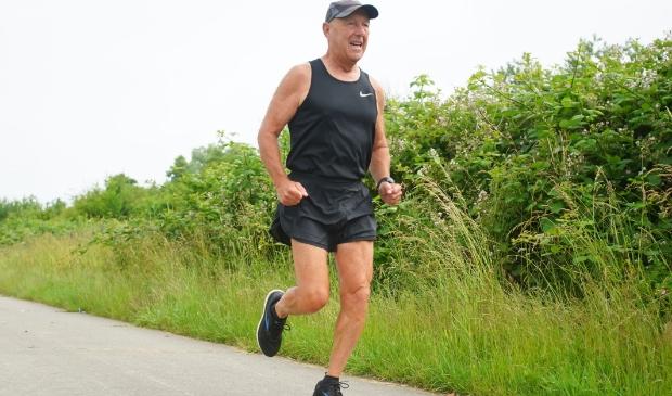 """Ben Mol: """" Ik ben de enige ICD-drager ter wereld met duizend marathons.""""  (Foto: Fred Rotgans)"""