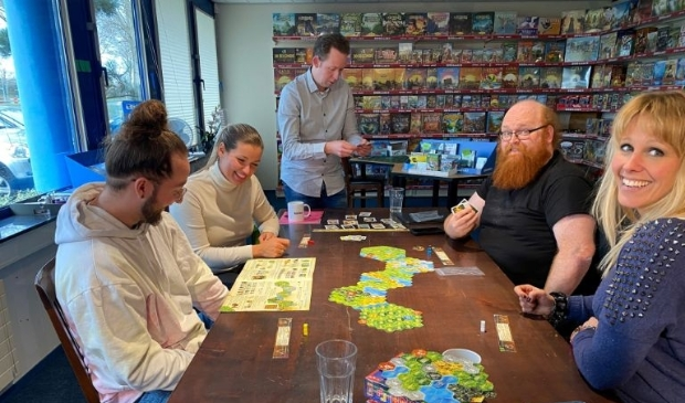 Het Almeerse uitgeversbedrijf van spellen en puzzels zag haar omzet met meer dan 50% stijgen. (Foto: aangeleverd)