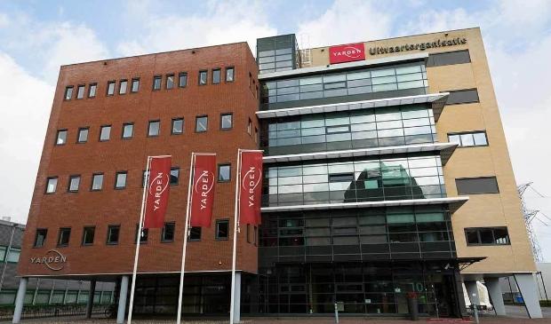 <p>Het hoofdkantoor van Yarden aan de Transitorstraat in Almere. (Foto: aangeleverd)</p>