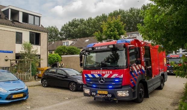 De brandweer rukte uit. (Foto: HV Almere)
