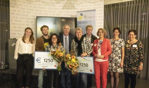 De winnaars van de Andries Greinerprijs 2019 (Foto: aangeleverd)