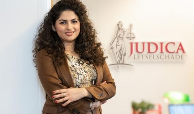 <p>Liza Dehzad, eigenaar van Judica Letselschade. (Foto: aangeleverd)</p>