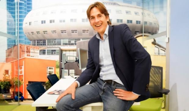 <p>Wouter Stevens, directeur Rabobank Metropoolregio Almere- Amsterdam. (Foto: Fred Rotgans)</p>