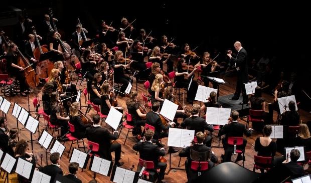 Het Nederlands Studenten Orkest. (Foto: Veerle Bastiaanssen)