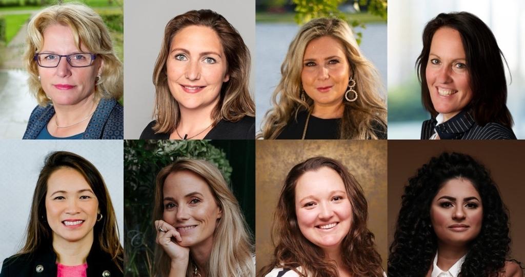 Alle genomineerde zakenvrouwen van dit jaar. (Foto: aangeleverd)  ©