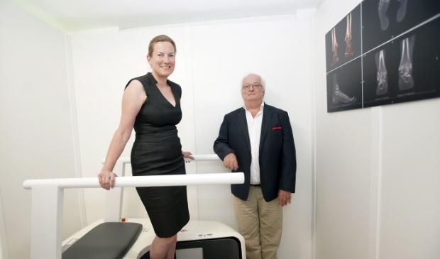 Caroline van Heijkamp en George Hersbach van T-Soles. (Foto: Fred Rotgans)