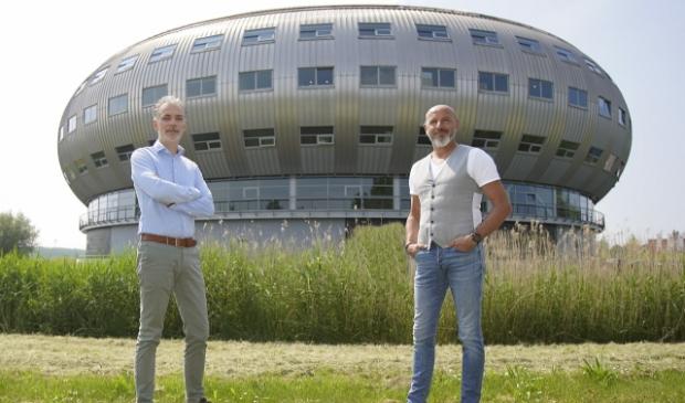 Jeroen Kimmel (links) en Mario Bakker. (Foto: Fred Rotgans)