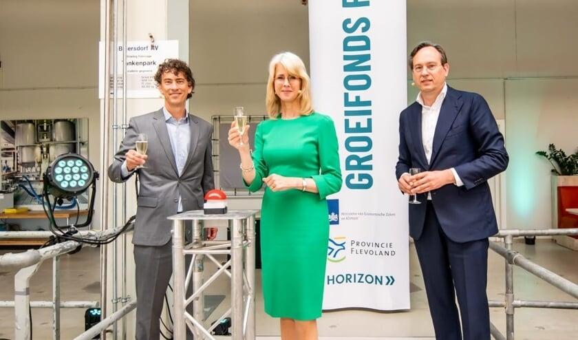 Startschot Mona Keijzer voor Groeifonds Flevoland