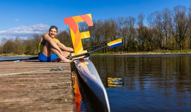 <p>Helaas geen medaille voor roeier Niki van Sprang. (Foto: Feenstra Fotografie)</p>