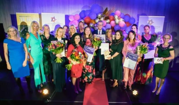 De verkiezingsavond van het Netwerk Flevolandse Zakenvrouwen. (Foto: aangeleverd)