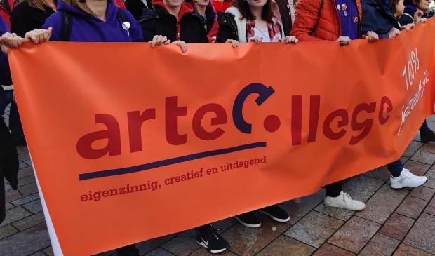 <p>Het Arte Collega staat bekend als een school voor vrijheid en diversiteit. (Foto: Facebook archief Arte College)</p>