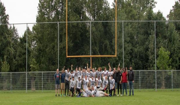 Island Spartans wonnen hun eerste wedstrijd. (Foto: aangeleverd)