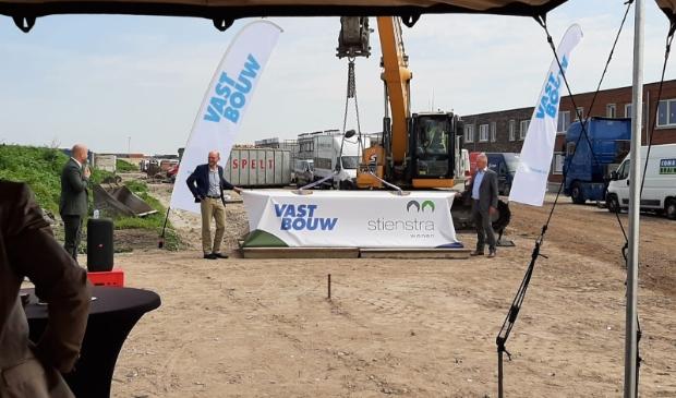 In juni ging het eerste hofje van  Groene Wold uit de steigers. De woningen stegen snel in prijs. (Foto: aangeleverd)