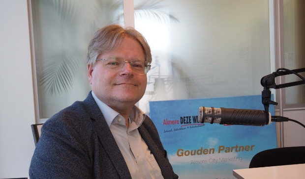 Ruud de Jonge (PvdA). (Foto: Almere DEZE WEEK)