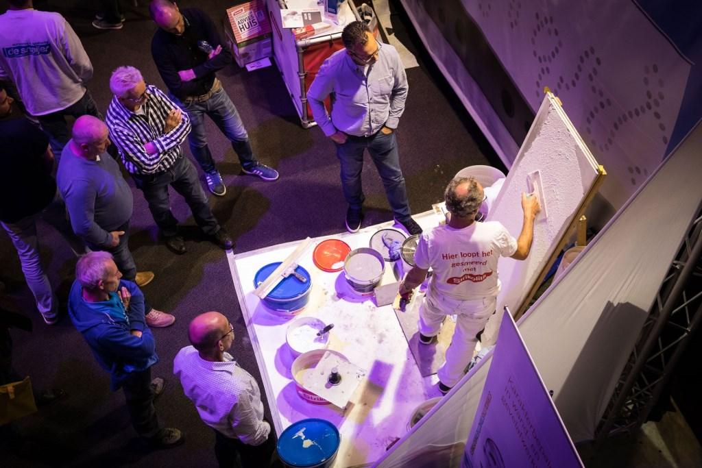 NIEUWEGEIN - Sfeer op de StucVakDag georganiseerd door NOA - Nederlandse Ondernemersvereniging voor Afbouwbedrijven -  in het NBC Congrescentrum Nieuwegein.© 2017 Foto: Nils van Houts NILS VAN HOUTS,  Nils van Houts © Afbouwkrant