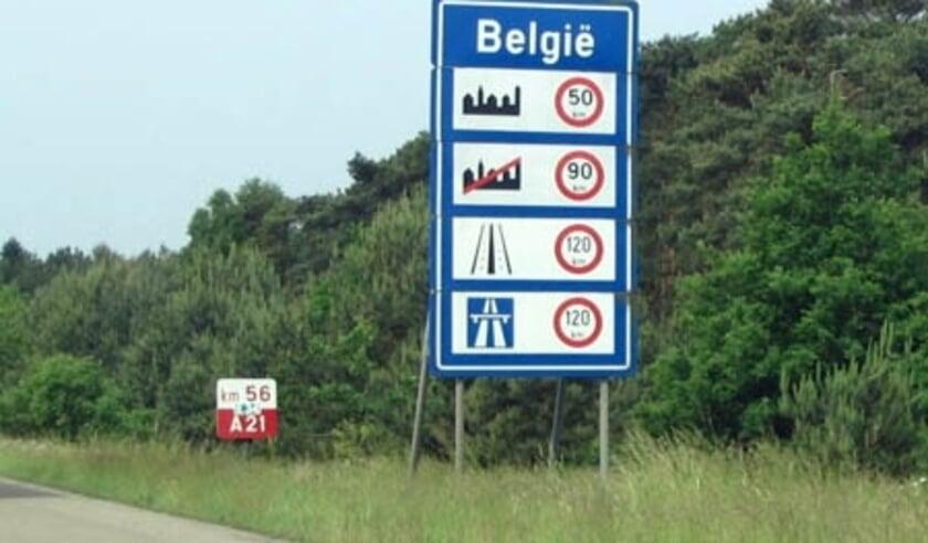 Grens België