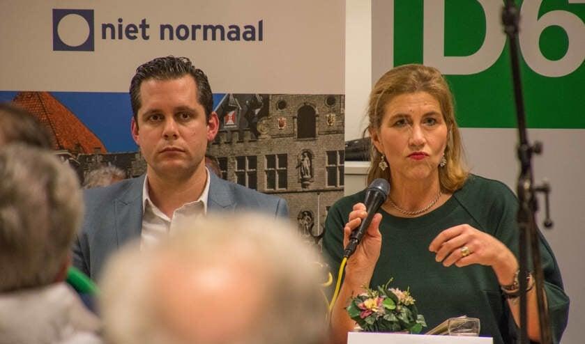 <p>D66-frontvrouw Carinne Elion treedt terug.</p>