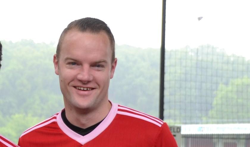 Jeroen Augustijn was een van de doelpuntenmakers voor VVC.