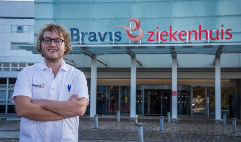 Actiecomitéleider Wessel van Meer.
