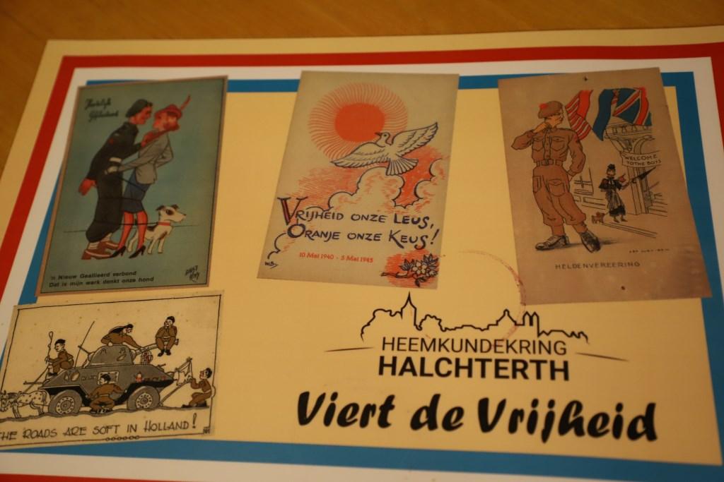 Tentoonstelling Heemkundekring Halchterth viert de vrijheid.  © Minerve Pers