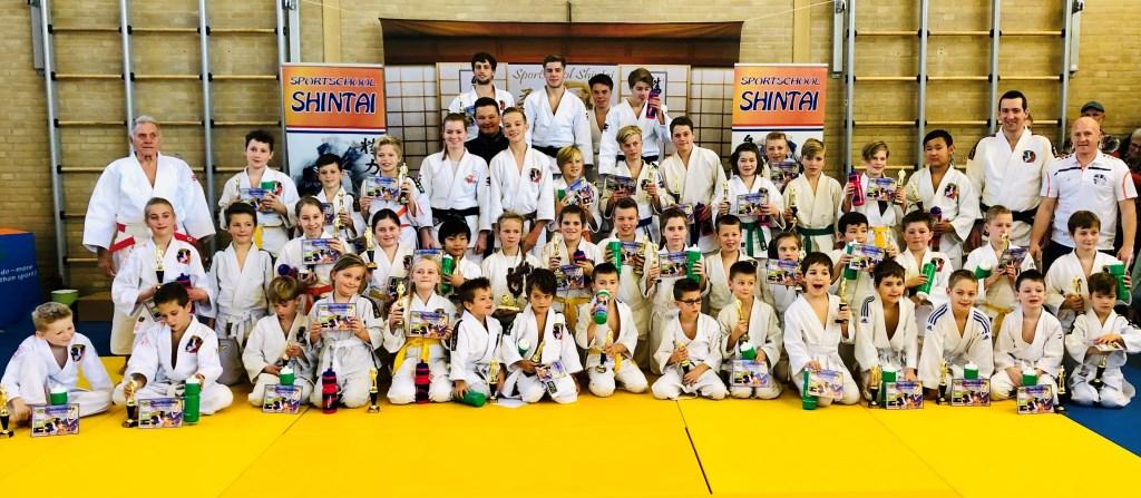 Alle deelnemers van de clubkampioenschappen   © Minerve Pers