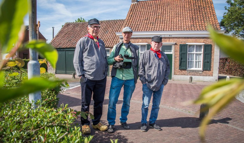 Jakke, Stakke en hun cameraman John Kil.