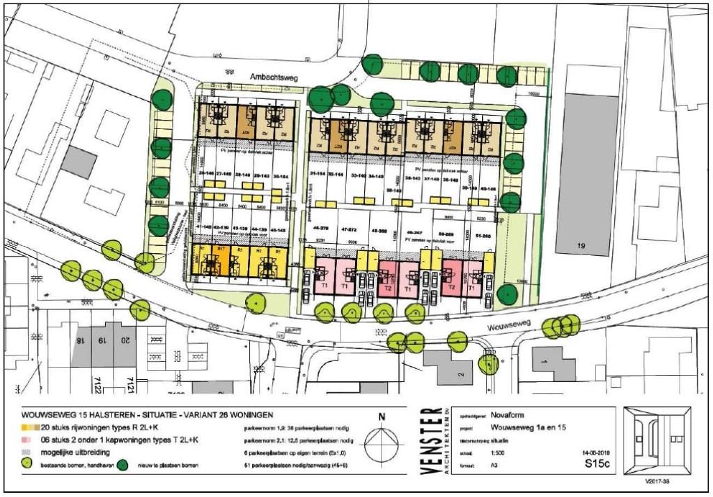 Het nieuwe plan voor het HEMI-terrein.  © Minerve Pers