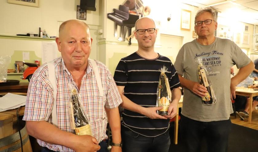 Winnend team Aarts-Nuijten-Van Schilt