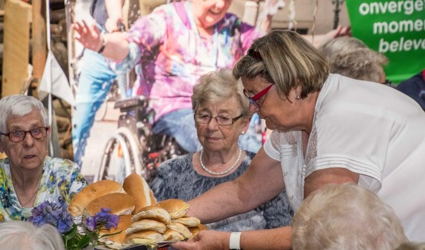 Heerlijke broodjes, mede dankzij de lokale middenstand.