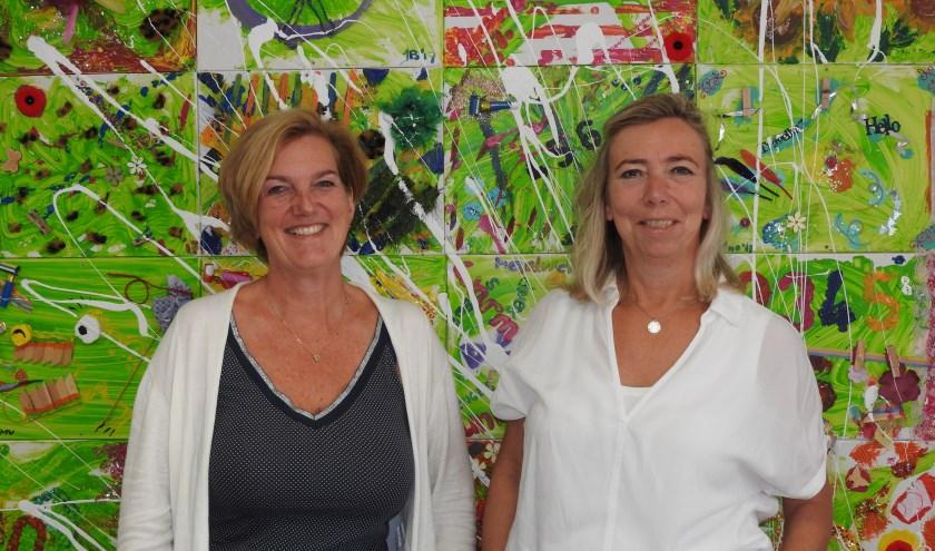 Jennifer Jeroense en Ingrid de Ron namens De Poorte op pad.