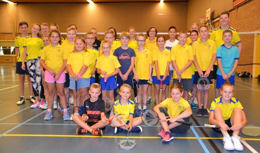 Bij de 50-jarige omnisportvereniging Olympus'69 zijn jeugdleden actief bij de afdeling Badminton.