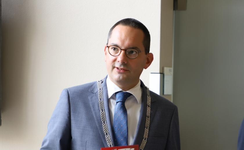 Burgemeester Steven Adriaansen