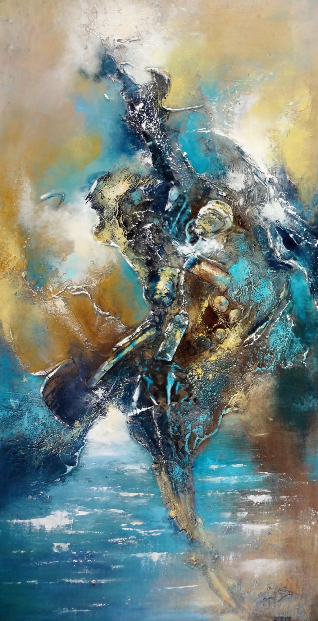 Ineke Duyndam, schilderij Foto:  © Minerve Pers