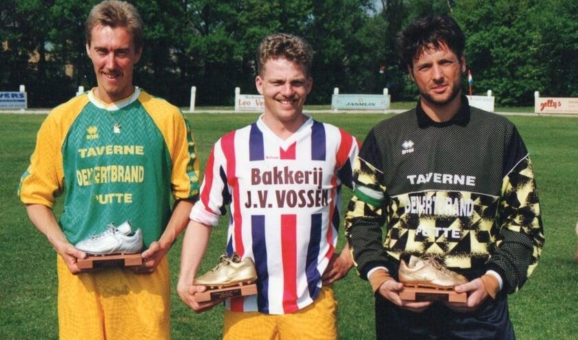 Jan van der Poel, Pierre van Broekhoven en Wilfried van Tilburg