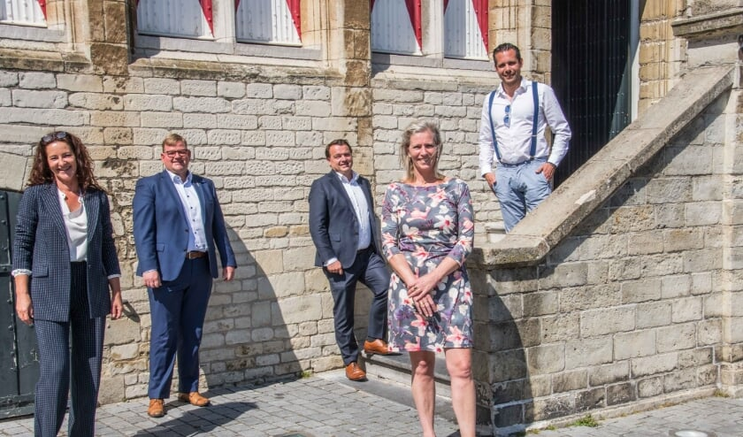 <p>Wethouders gemeente Bergen op Zoom.</p>