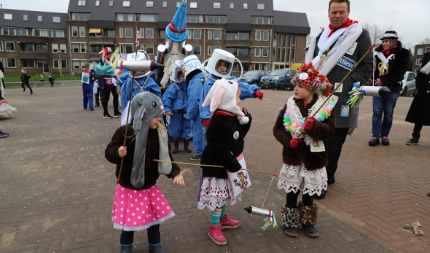 intocht carnaval Halsteren Foto: Bep Tielemans © Minerve Pers