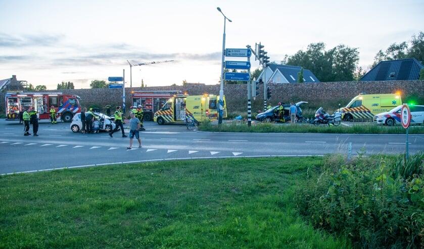 Ernstig ongeval op Randweg-Noord in Bergen op Zoom.