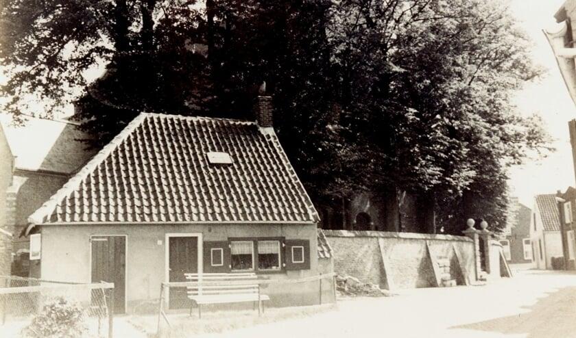 'Het pannenkoekenhuisje' vroeger in de Kromstraat in Halsteren.