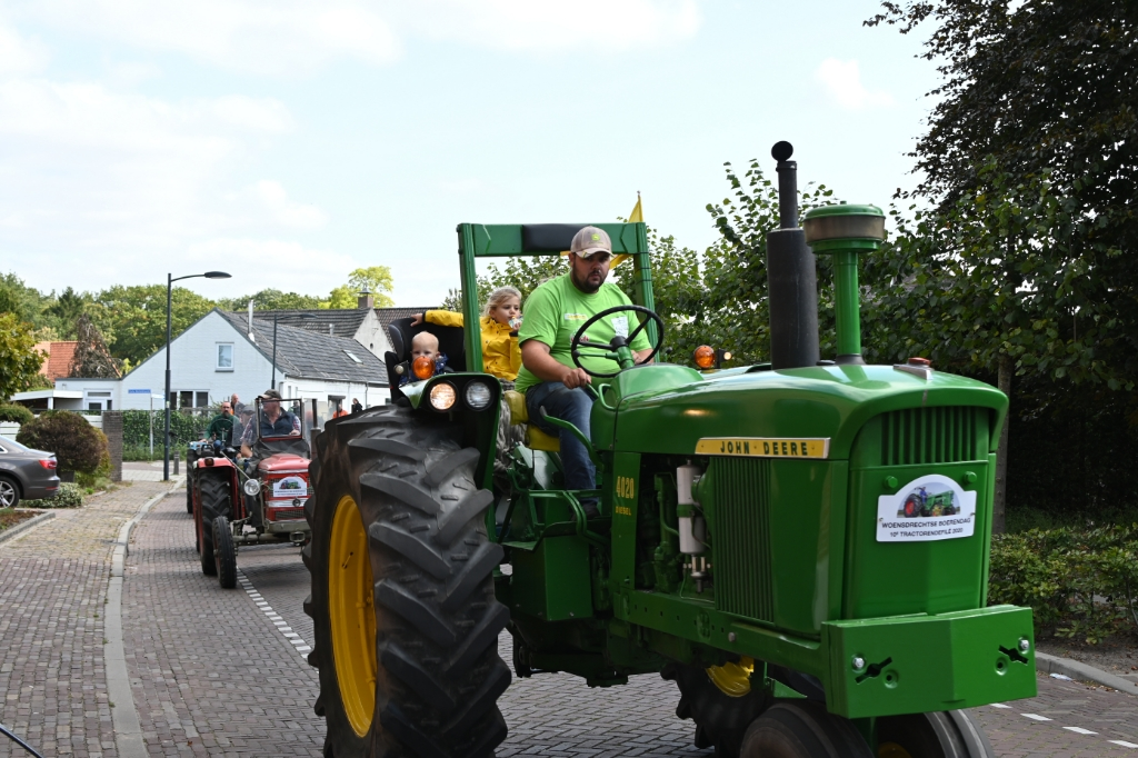 Tractorentoertocht 2020 Foto: Pascal Brugman © Minerve Pers