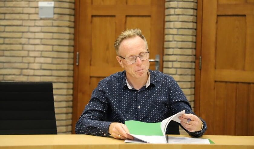Wethouder Lars van der Beek