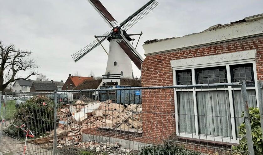 Bijgebouwen molen bijna gesloopt